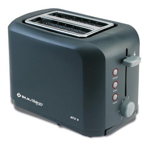 Bajaj Majesty Atx 9 2-slice 800-watt Auto Pop-up Toaster