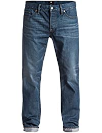 DC Herren Jeans WASHED STRAIGHT M PANT - MEDIUM STONE