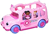 Pink Lil' Movers School Bus Little People by Fisher-Price (Styles...