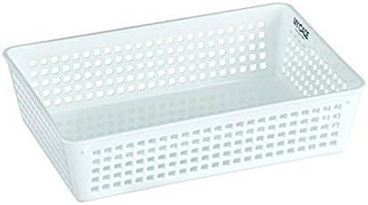Lock&Lock Medium Fashion Basket, White