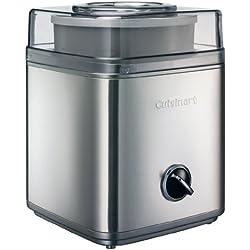 Cuisinart ICE30BCE Heladera, 25 W, 2 litros, Gris