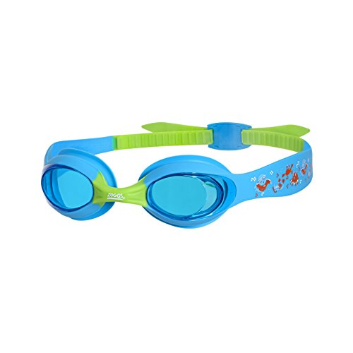 Zoggs Kinder Little Twist Schwimmbrille, Blue/Green/Tint, One Size