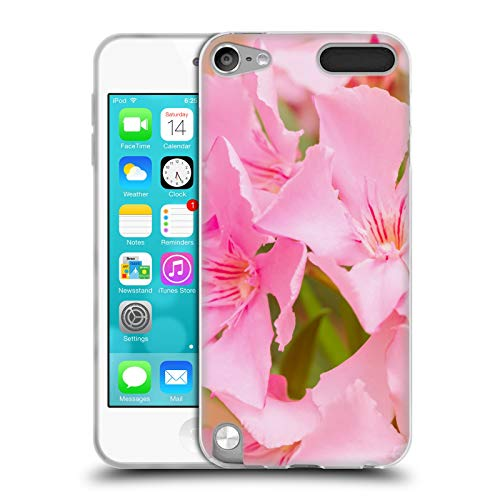 Head Case Designs Offizielle Beli Laurel Blueten Blumen Soft Gel Huelle kompatibel mit Apple iPod Touch 5G 5th Gen (Laurel Mp3)