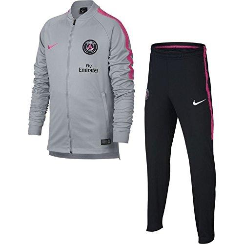 Nike PSG M NK Dry SQD TRK Suit K - Chándal, Hombre, (Wolf Grey/Black/Hyper Pink/Hyper Pink)