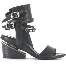 A.S.98 Zapatos Altos Rey 703005-201 Nero Airstep as98 aa97133a3f18