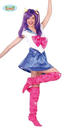 STÜM - MARINE GIRL - Größe 42/44 (L), Sailor M. Cosplay Manga Mädchen (Sailor Girl Kostüm Für Frauen)