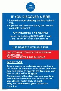 viking-signs-mf331-a5p-v-fire-action-if-you-discover-a-fire-for-hotel-guest-house-sign-vinyl-200-mm-