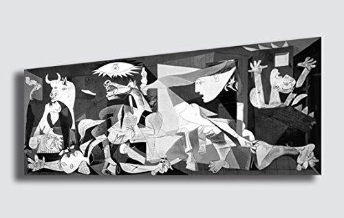 Quadro pablo picasso guernica riproduzione stampa su for Amazon quadri