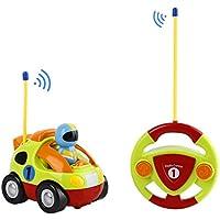 FPVRC Voiture Télécommandée RC Camion de Police/Course Jouet pour les Bébés et les Enfants