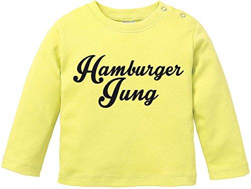 EZYshirt® Hamburger Jung Baby T-Shirt Longsleeve