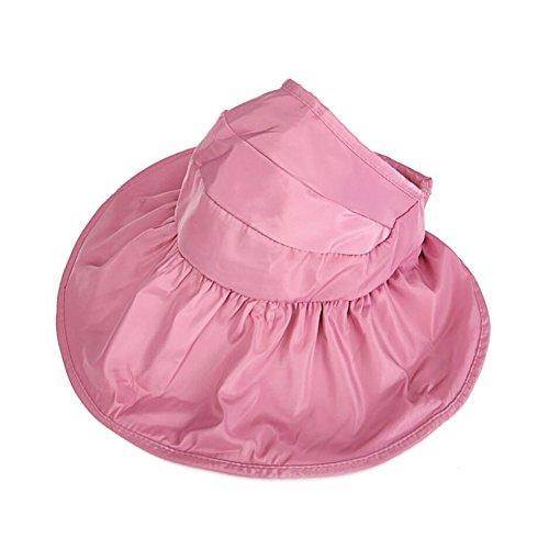 FH Chapeau, Coupe Prêle Big Edge Vide Haut Parasol Chapeau Femelle Printemps Été Version coréenne étudiant Pliable