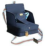 roba Boostersitz, mobiler aufblasbarer Kindersitz als Sitzerhöhung und praktisch für Reisen, blau, Kollektion 2018