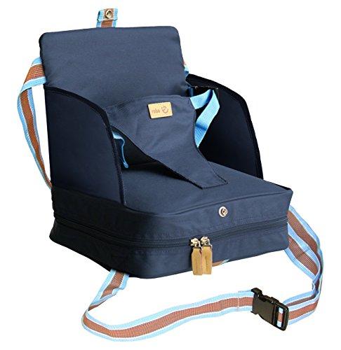 roba Boostersitz, mobiler aufblasbarer Kindersitz mit erhöhten Seitenteilen, flexible Sitzerhöhung für zuhause und unterwegs - Hause Für Aufblasbare Zu Kissen