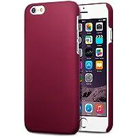 Terrapin Gummiertes Hardskin Hülle für iPhone 6S / iPhone 6 Hülle Rot