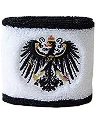 Schweißband Motiv Fahne / Flagge Preußen + gratis Aufkleber, Flaggenfritze®