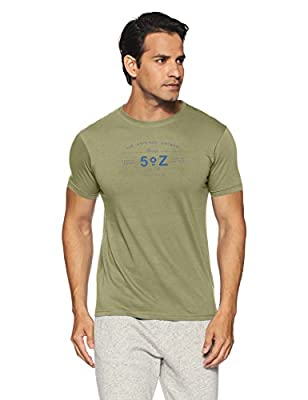 Pepe Jeans Men's Solid Slim Fit T-Shirt