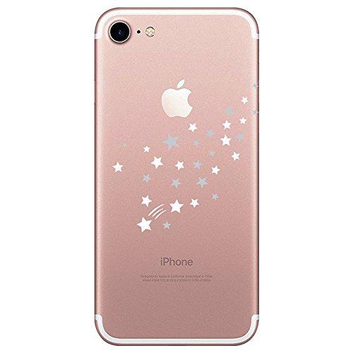 "Qissy iPhone 7 Funda,Carcasa iPhone 7 Case Cover Dibujos Animados Silicona Suave Funda para Apple iPhone 7 4.7"" (25)"