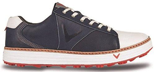 Callaway Herren Series-Del mar Retro Golfschuhe, (Blau/Weiß), 45 EU
