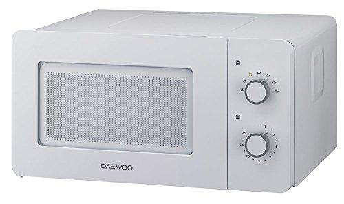 DAEWOO kor-5a17W Comptoir du Mikrowelle nur 15L 500W weiß Mikrowelle–Mikrowelle (Comptoir du, Mikrowelle nur, 15l, 500W, drehbar, weiß)