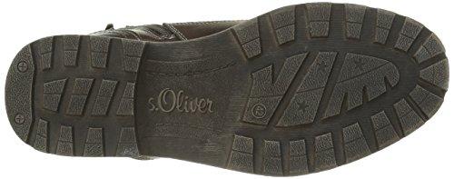 s.Oliver 16221, Bottes Rangers Homme Marron (Dark Brown 302)