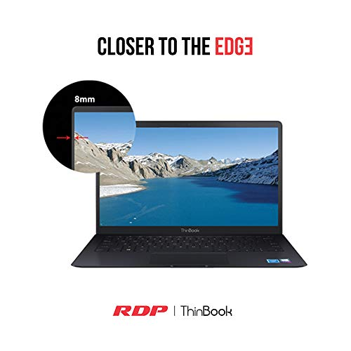 "RDP ThinBook 1450-ECH – Intel 1.92GHz Quad Core/2GB RAM/500GB Storage/8.5 Hours Backup/Windows 10/14.1"" HD Display with Thin Bezel"