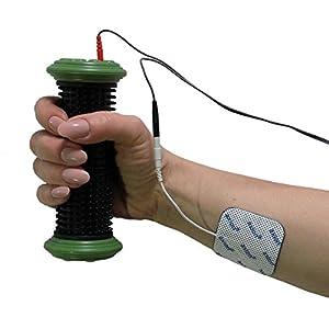 TENS Hand-Elektrode & Klebe-Elektroden passend zu Sanitas SEM 42 / 43 / 44 / 50. Gegen Schmerzen in Fingern, Hand und Handgelenk. Handrolle für Reizstrom-Therapie