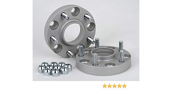 Spurverbreiterung Aluminium 2 Stück 20 Mm Pro Scheibe 40 Mm Pro Achse Incl TÜv Teilegutachten Auto