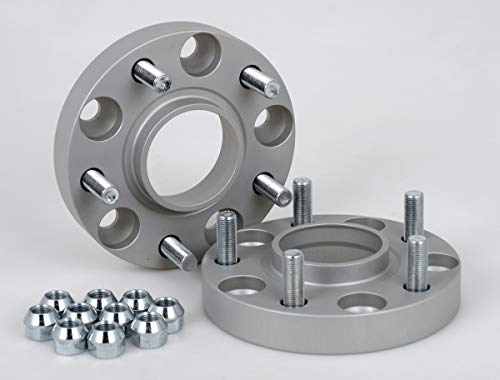 Spurverbreiterung Aluminium 2 Stück (25 mm pro Scheibe / 50 mm pro Achse) incl. TÜV-Teilegutachten