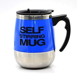 newlemo kaffeetasse edelstahl mit deckel 450ml automatic electric r hren kaffee tasse geschenk. Black Bedroom Furniture Sets. Home Design Ideas
