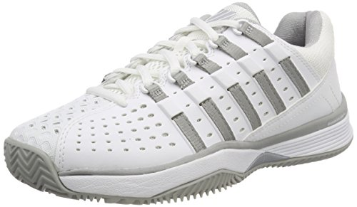 K-Swiss Performance Hypermatch HB, Scarpe da Tennis Donna Bianco (White/Highrise 01) 37 EU