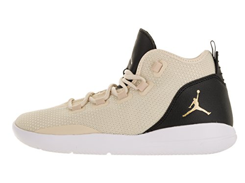 Nike Jordan Reveal Prem Hc Gg, Chaussures de Sport-Basketball Fille Blanc Cassé - Blanco (Blanco (Prl White / Mtllc Gld-Blk-White))
