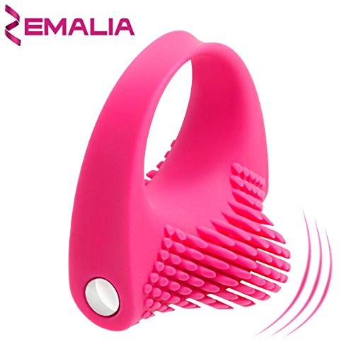 ZEMALIA Vibrator Ring - Perfekt für Paare, Sie und Ihn. 100% medizinisches soft Silikon. Wasserdicht !