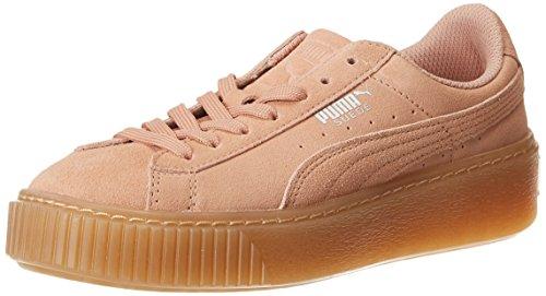 uede Platform Jewel Jr Sneaker, Peach Beige, 39 EU ()