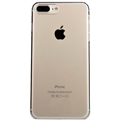 gahatoo [kompatibel für iPhone 8 Plus] Hardcase Handyhülle Transparent [Premium Crystal Clear] Ultra Slim Case (Hard Handy Case)