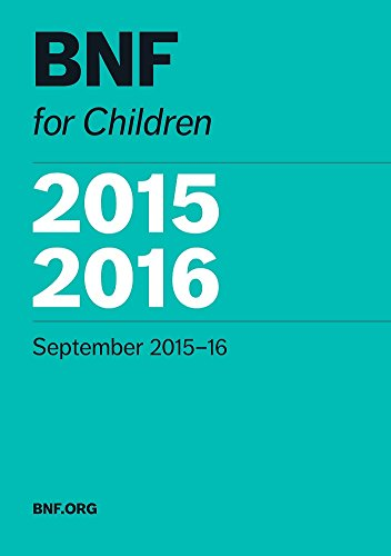 BNF for Children 2015-16