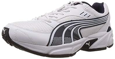 Puma Men's Pluto DP White-Insignia Blue Running Shoes - 8 UK/India (42 EU)