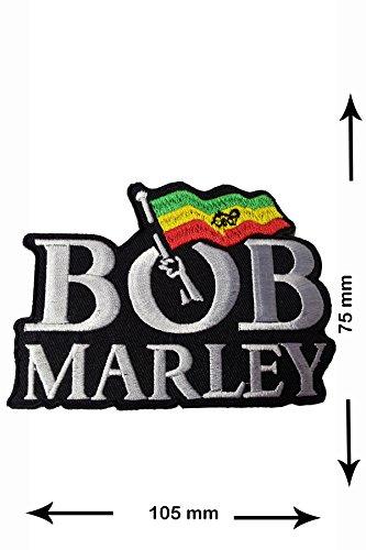 Patch - Bob Marley - Patch - hot iron - Aufnäher - Aufbügler - Bügelbild Bob Patch