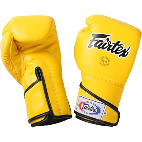 Fairtex BGV6 Gloves - Muay Thai Kickboxing MMA Training Boxing Equipment Gear for Martial Art-12oz Boxerhandschuhe -
