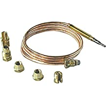 First4Spares Universal Application Gas Thermocouple Kit - 600mm