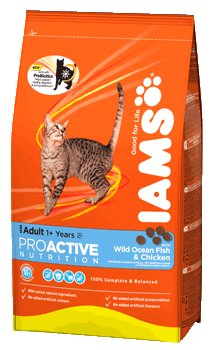 Iams Cat Adult With Steamed Wild Ocean Fish