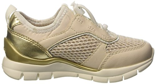 Geox J Sukie A, Sneakers Basses Fille Beige (Ivoryc1008)