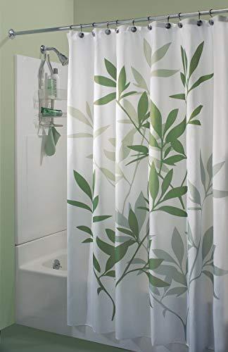 Duschvorhang Liner Bambus Muster Design 3D Polyester Stoff Wasserdicht Bad Vorhänge mit Haken -