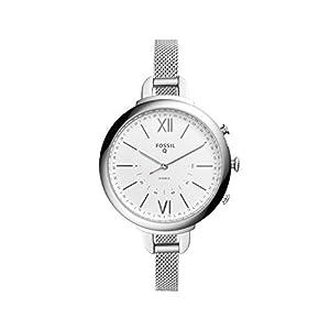 Fossil Damen Analog Quarz Uhr mit Edelstahl Armband FTW5026