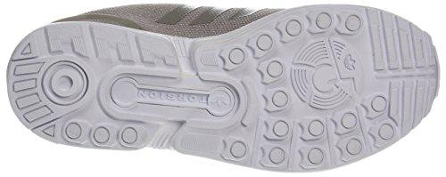 adidas ZX Flux W, Scarpe da Corsa Donna Multicolore (Vapour Grey F16/Vapour Grey F16/Silver Met.)