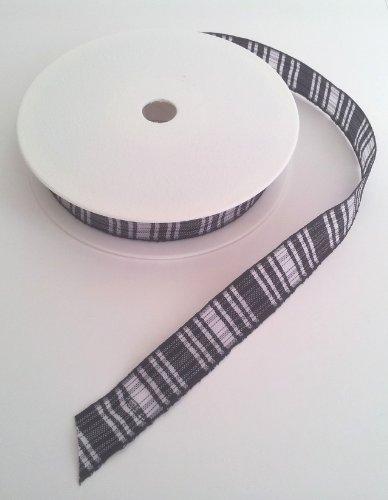 Tartan Polyester-Band, 16 mm breit Menzies -