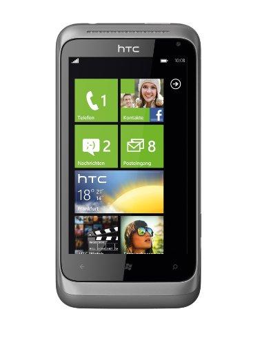 HTC Radar Smartphone (9,6 cm (3,8 Zoll) Touchscreen Display, 5 Megapixel Kamera, GSM, UMTS, HSDPA, WiFi, micro USB 2.0, Windows Phone 7.5) metal silber Htc-htc Radar