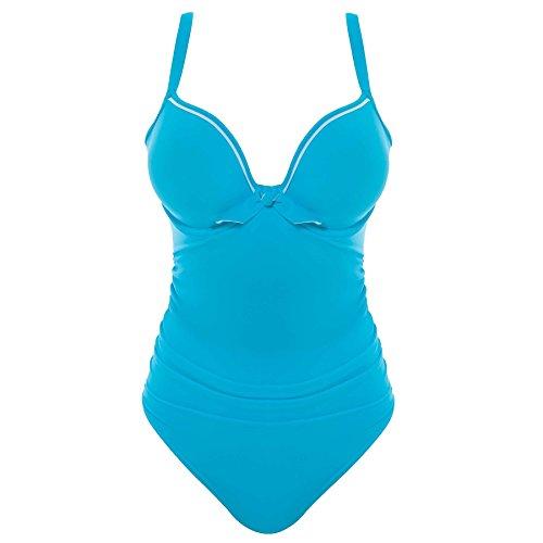 Freya Damen Badeanzug Gr. 65E, DD, DD, Aqua Blue