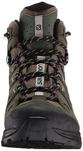Salomon Quest Prime, Chaussures de Randonnée Hautes Homme Grün (Swamp/Night Forest/Titanium)