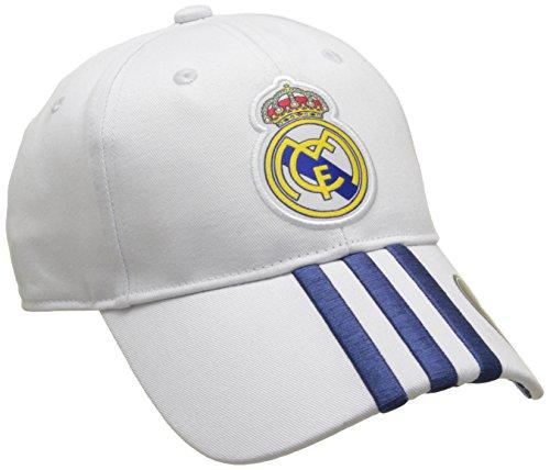 adidas Real H 3S Cap Cap-Real Madrid FC für Herren, Herren, Real Madrid H 3S, Naranja (Balcri/Mornat), Einheitsgröße