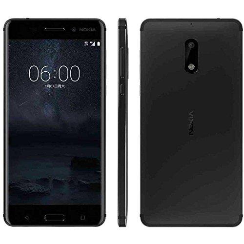 Preisvergleich Produktbild Nokia 6 4G 32GB Dual-SIM matte black EU
